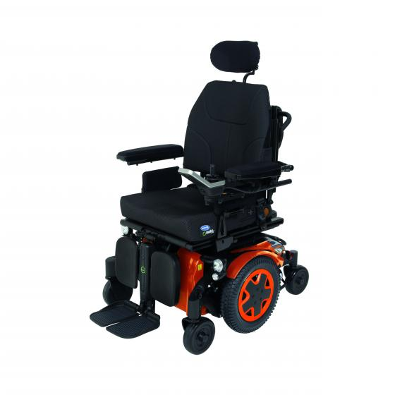TDX SP2NB is a Mid Wheel Drive power chair